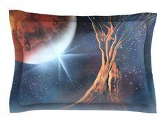 Embark by Infinite Spray Art Nature Cotton Pillow Sham