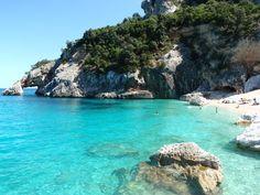 snorkelling beach in sardinia