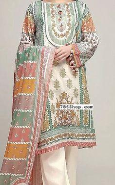 B REPLICA Khaddar Pakistano Ready Made ricamato Salwar Kameez 2019 Maria