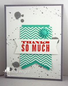 Ritas Creations: Stampin Up! Gorgeous Grunge