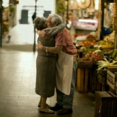 Old couples are the cutest.