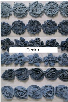 Hey Everyone, OMG so i was looking for more product to sell on my etsy  and ran across these absolutely amazing rosette trims! OMG I CANT BE...