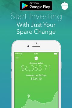 Start investing your spare change with Acorns, the app that takes small amounts from everyday purchases and invests it into your own diversified portfolio. Download the app today and get started in just minutes.