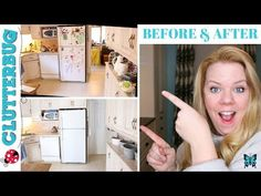 (132) How to Organize a Messy Kitchen - Before and After Kitchen Organization - YouTube