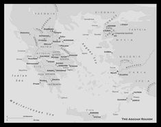 This is a map showing the different destinations and