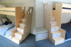 Stairway to Fun and Storage | Furnikidz.com | Best Children Furniture Design