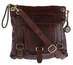 Be still my heart: The Sak Silverlake Leather Crossbody Bag #mk handbags#, #fashion handbags#
