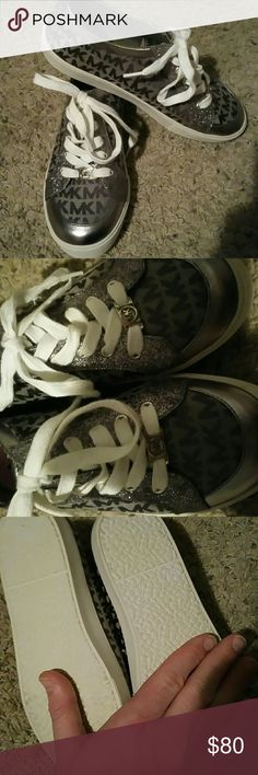 Womens MK SHOES New with tags  womens size six will also fir kids size 4 if you want to purchase for your kids Michael Kors Shoes