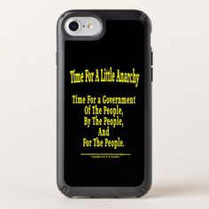 A Little Anarchy Speck Presidio iPhone 8/7/6s/6 Ca Speck iPhone Case Custom Brandable Electronics Gifts for your buniness #electronics #logo #brand