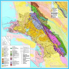 cool Map of Oakland California