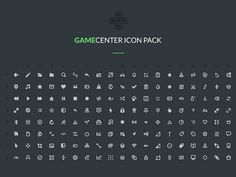 Gamecenter is a pack including 152 free icons based on a 16px grid. Free PSD created and released by Alexey Anatolievich.