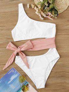 2020 Women Swimsuits Bikini Womens Underwear Uk Underboob Bikini Bathing Suits For Your Body Type Luxury Designer Swimwear Bikini Underwear, Cruise Outfits, Vacation Outfits, Cruise Wear, Cute Swimsuits, Women Swimsuits, Jolie Lingerie, Girls Bathing Suits, Plus Size Bikini