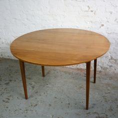 Vintage Mid Century Drop Leaf Table