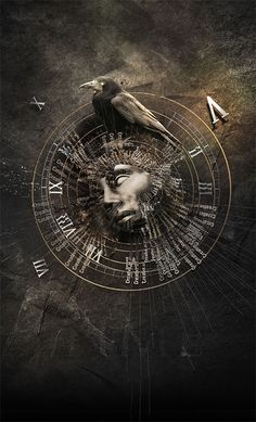 crow_time by *tariqdesign on deviantART out of Eden campaign cover