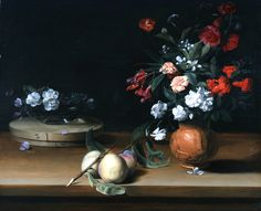 Still Life of Flowers and Fruit. 1640. Jean-Michel Picart