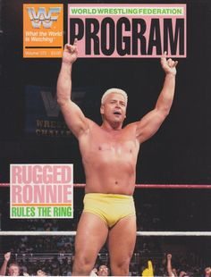 Rugged Ronnie Garvin Rules The Ring
