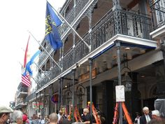 Greasing of the Poles, New Orleans