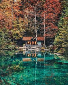 lake (noun) [C] a place of relaxation, rest and tranquility. Lake Blausee by @lily__rose #switzerland Discover the most hidden places on our travel map! www.mapiac.com