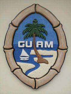 Guam's island seal...