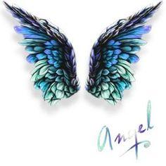 Blue & Green Wings