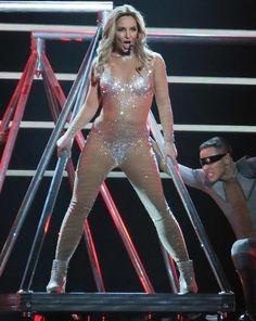 The Work B**ch- Britney Spears Vegas show diet