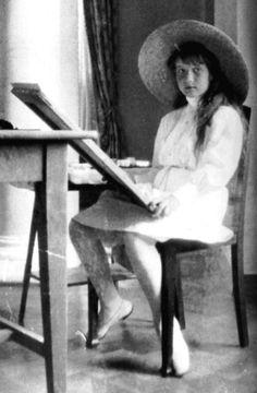Grand Duchess Anastasia painting in Livadia