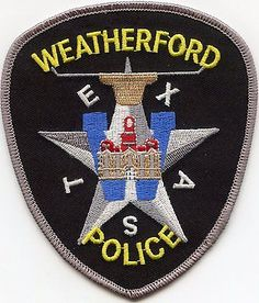 WEATHERFORD-TEXAS-POLICE-PATCH