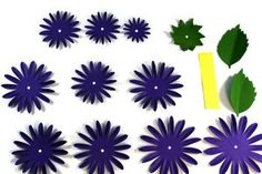 The Best Paper Dahlia Craft Tutorial Ever!: How to Make a Paper Dahlia: Step 1 Cut Out Flower Pieces