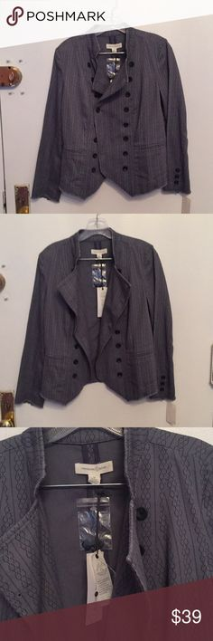 deconstructed double breasted jacket M Treasure and Bond deconstructed cotton jacket.  Reversible buttoning. Treasure & Bond Jackets & Coats Blazers