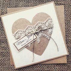No i mamy piąteczek! ♡♡♡ #kartkiokolicznościowe #kartkiręcznierobione  #kartkirecznierobione #zaproszenia  #zaproszeniaślubne… Wedding Stationary, Wedding Invitations, Valentine Love Cards, Valentines, Diy And Crafts, Paper Crafts, Scrapbooking, Custom Cards, 40th Birthday
