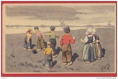 KARL FEIERTAG : Enfants Et Moulins - Feiertag, Karl