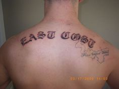 I knew the east coast was different, but. - I knew the east coast was different, but… - Bad Tattoos, Funny Tattoos, Love Tattoos, Tatoos, Terrible Tattoos, Worst Tattoos, Tattoo Fails, Tattoo Quotes, Tattoos Gone Wrong
