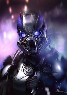 Robot Metal - Concept art, Sci-fi