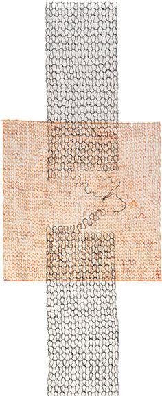 Carol MacDonald: Knit Monoprints & Drawings