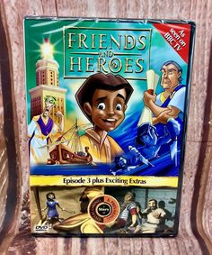 Friends And Heroes Episode 3 Plus Extras Dvd Kids Children's Toddlers Kids DVDs Episode 3, Children, Kids, Toddlers, Baseball Cards, Friends, Ebay, Boys, Boys