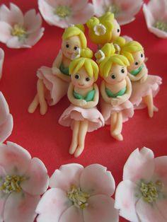 Blossom girls cupcake topper