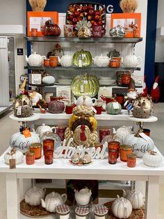 Marshalls, Give Thanks, Thanksgiving Decorations, Visual Merchandising, Tj Maxx, Harvest, Mugs, Tableware, Home Decor
