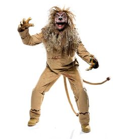Wicked Of Oz Lion Costume Adult