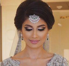 Maquillage libanais lumineux