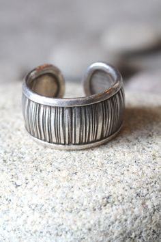 Sterling Silver Engraved Ring by Hill Tribe