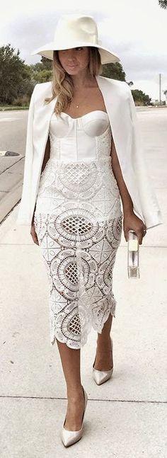 All white.                                                                                                                                                                                 More