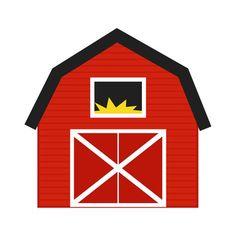 farmer clip art free barn clip art image red and white barn rh pinterest com big red barn clipart red baron clip art
