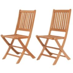 Amazonia Teak Terra Teak Dining Side Chairs (Set of 2) | Overstock.com Shopping - The Best Deals on Dining Chairs