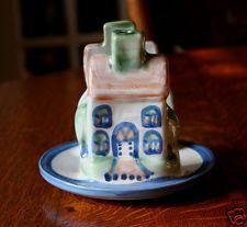 M. A. Hadley Pottery Napkin Holder House Signed I won this on EBay today! hooray!!! :)