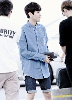 Baekhyun ♡ Airport Fashion ♡ #EXO