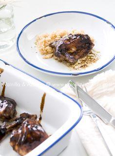 Fácil y sabroso: pollo pegajoso/ Easy and tasteful: sticky chicken
