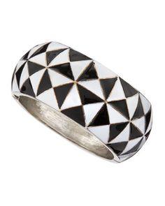 Diamond Enamel Bracelet by R.J. Graziano at Last Call by Neiman Marcus.