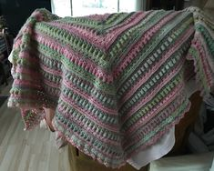 Excited to share the latest addition to my #etsy shop: Lovely handmade triangular shawl