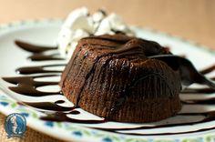 è arrivato l'autunno... ma noi ci scaldiamo con un cuore di cioccolato fuso!