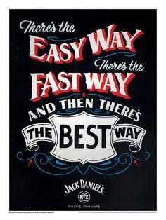Jack Daniel's em série de impressos 100% artesanais » Brainstorm9